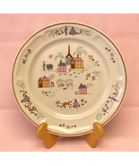 Newcor Stoneware Heirloom dinner plate Our Country 6004 vintage 1986 - $5.00