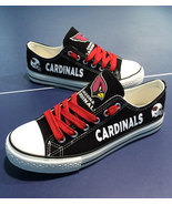 Cardinals shoe womens cardinals sneakers converse style tennis shoe ariz... - $54.89+