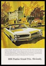Pontiac Grand Prix Automobile 1966 AF VK Print Ad - $18.99