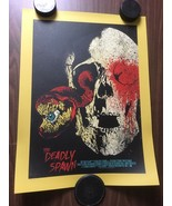"The Deadly Spawn by Chris Garofalo18"" x 24"" hand-numbered & signed scree... - $85.45"