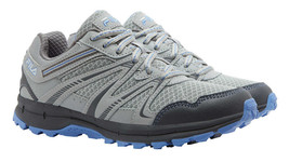 Fila Ladies' North Hampton Trail Sneaker Shoe - Grey/Blue - Size 7.5 - $21.77