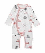 YT couple Infant Baby Animal Print '2-Way' Zipper Romper One Piece Long ... - $12.75
