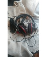 Turtle beach black and red headsets vmh428 - $17.85