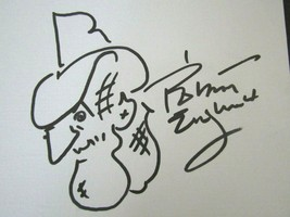 Robert Englund Self Drawn Nightmare On Elm Street Signed Canvas Sketch PSA - $143.55