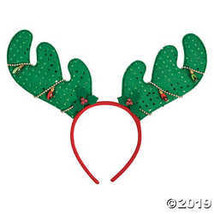 Reindeer Antlers with Faux Lights - $19.11