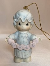 1987 Precious Moments You Have Touched So Many Hearts Christmas Ornament... - $12.99