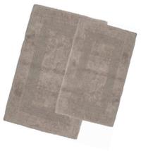 Cotton Bath Mat Set- 2 Piece 100 Percent Mats- Reversible, Soft, Absorbe... - $44.45