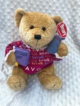 "Avon Beary Beautiful Collection Plush Teddy Bear Gabbigail 12"" Tall Sitt... - $17.37"