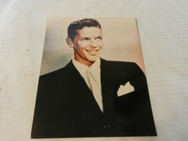 794150ef803c Frank Sinatra Color Photograph Smiling In Black Suit, Young 8x10 - $22.27 ·  Add to cart · View similar items