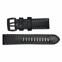 Luminox Watch Band Fied Series 1800 Black Leather Black Buckle Strap FE1... - $48.02