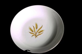 Vintage Golden Wheat 7 inch salad plate with 22k gold trim Homer Laughlin - $3.17