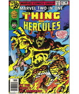 Marvel Two-In-One Comic Book #44 The Thing and Hercules Marvel 1978 VERY... - $2.50