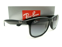 Ray-Ban Sunglasses RB4202 Andy Black Gray 601/8G New Authentic 55mm - $119.00