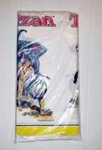 Vintage 1973 Tarzan  54x96 Table Cloth - $11.71