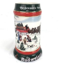 "Budweiser ""The Season's Best"" 1991 Beer Stein Mint - $14.59"