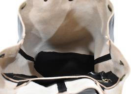 Women's Leather Boho Chic Purse Studded Expandable Lined Transport Tote Handbag image 7