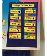 Carson Dellosa Learning Centers Pocket Chart Classroom Kindergarten Thro... - $14.99