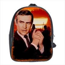 School bag 3 sizes you only leave twice james bond sean connery - $39.00+