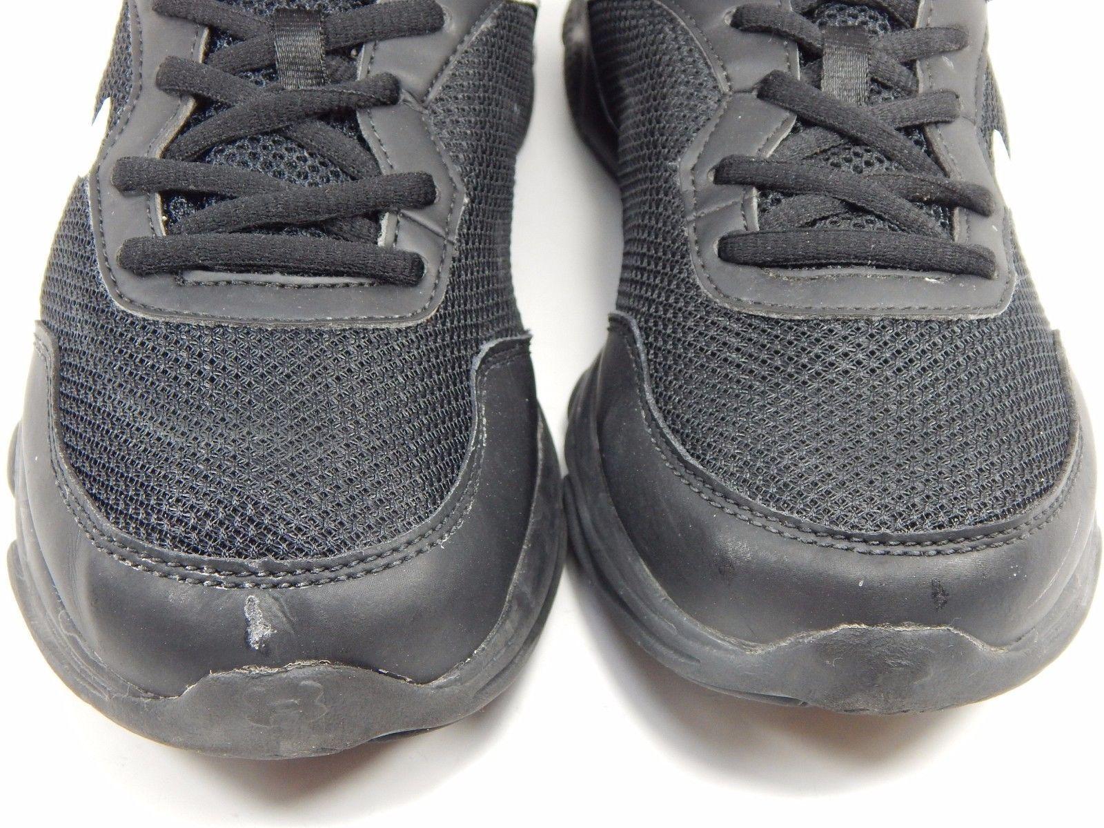 Under Armour Escape Run Boy's Youth Athletic Shoes Size 6.5 Y (M) EU 39 Black