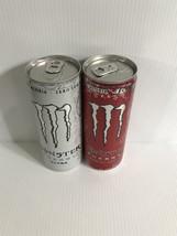 Monster Energy Drink Ultra White & Ultra Red 250ml Full Cans - $22.99
