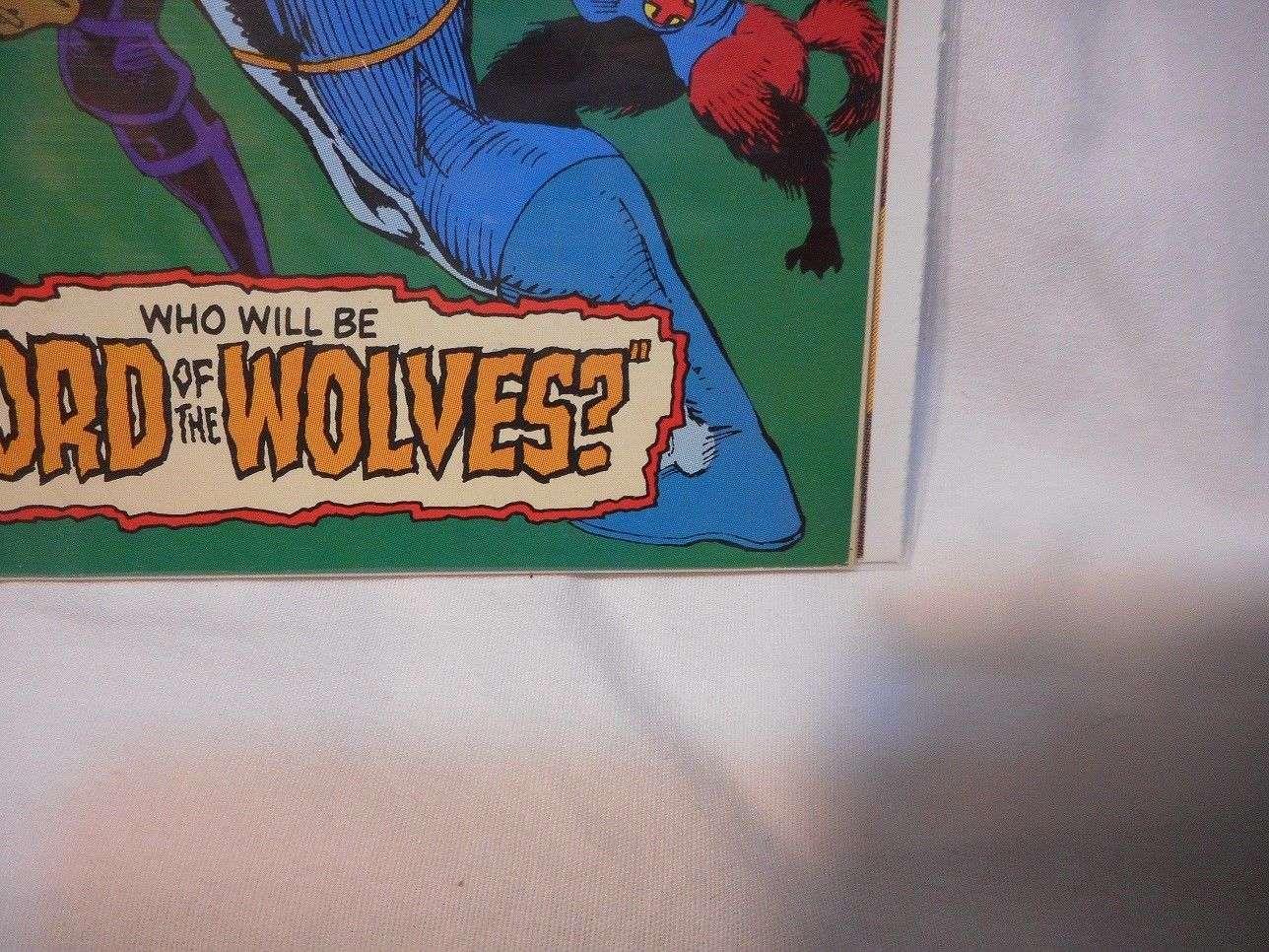 1992 Marvel Comics Captain America #407 Comic Man & Wolf Part 6 of 6 VF