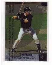 1999 Topps Finest #203 Paul Konerko Chicago White Sox Collectible Baseball Card - $0.99