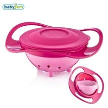 Babyjem Non Spill Feeding Bowl for Toddlers, 360 ° Rotation, Baby Food B... - $23.66