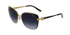 Brand New Chopard Sunglasses SCHB69S 301F 57MM Gold Black/Gray Women - $188.09