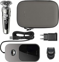 Philips Serie 9000 Prestige Sp9861/16 Shaver Electric Tray Of Charging QI - $940.50