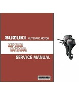 Suzuki DF15A DF20A Four Stroke EFI Outboard Motor Service Repair Manual CD  - $12.00