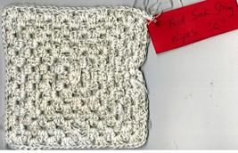 Tonia's Feed Sack String Cotton Granny Square Wipe C1 - $10.00