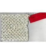 Tonia's Feed Sack String Cotton Granny Square Wipe C1 - $10.00