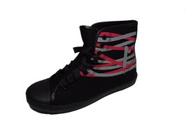 Be&d By Maison Dumain Black Canvas and a Tangled Pink. Size 37 Eu or 7 Us - $49.99