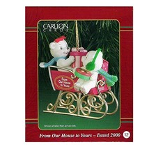 Carlton Cards Heirloom Ornament From Our House To Yours Dated 2000 #CXOR... - $17.99