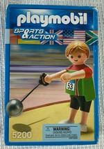Geobra Playmobil 5200 SPORTS & ACTION HAMMER THROW Olympics 2011 SEALED ... - $6.52