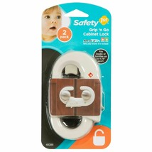 "Safety 1st Grip 'n Go Cabinet Lock 2 Pack (Fits Knobs Up To 4.75"") New Sealed - $15.35"