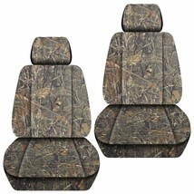 Front set car seat covers fits Jeep Cherokee 2014-2020     camo wetlands - $69.99
