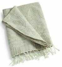 "Ralph Lauren ""Sonoma Valley Paulina' SAGE/NTRL Throw Blanket 54""x72"" Nip $355 - $164.58"