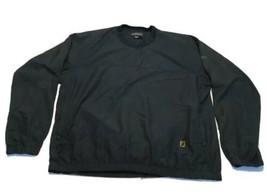 Footjoy Wind Rain Golf V Neck Green Pullover Jacket Mens Size Large - $24.74