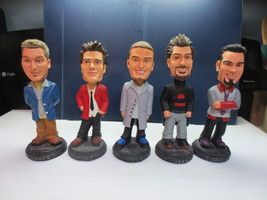N'Sync Collectible Bobble Heads Complete Collectible Set With 2 Lunch Bags - $29.99