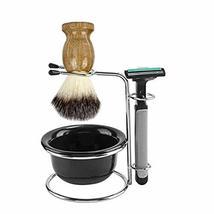Universal Heavy Stainless Shaving Brush Stand Holder With Shaving Bowl-The Best  image 6