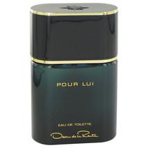 Pour Lui By Oscar de la Renta Eau De Toilette Spray (unboxed) 3 oz - $45.00
