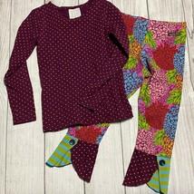 Matilda Jane Paint By Number Sz 6 Blouse & Capri Pants Outfit - $43.20