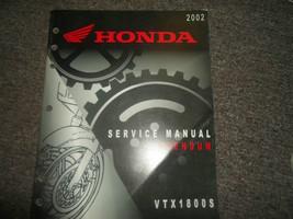 2002 Honda VTX1800S Addendum Service Repair Factory Manual OEM Addendum 02 - $47.48
