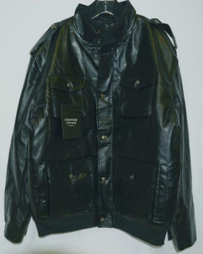 Counter Attack MJ018J Mens Polyester Jacket Color Black Size 2XL