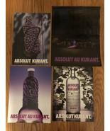 Absolut Au Kurant Collection Of Original Magazine Ads - $1.99