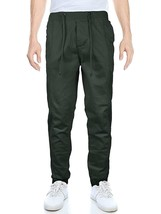 OTB Men's Banded Athletic Work Out Gym Stretch Jogger Sweat Pants image 2