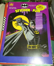 Batman Returns Tim Burton 1990 film sticker book - $19.99