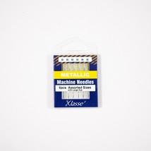 Klasse Metallic Needle Asst (x3 ea) 80/12, 90/14-Bundle of  30 Needles - $12.86