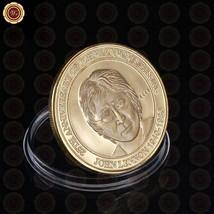 WR 25th Anniversary of John Lennon's Passing Commemorative Gold Coin Fan... - $4.74
